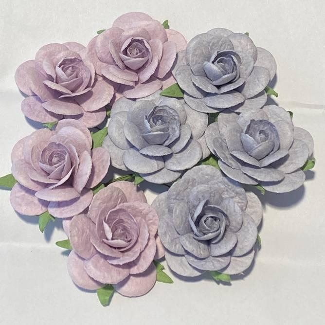 Bilde av Roser 3,5 cm, vintage lilla