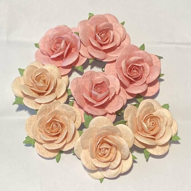 Bilde av Roser 3,5 cm, Lys varm rosa