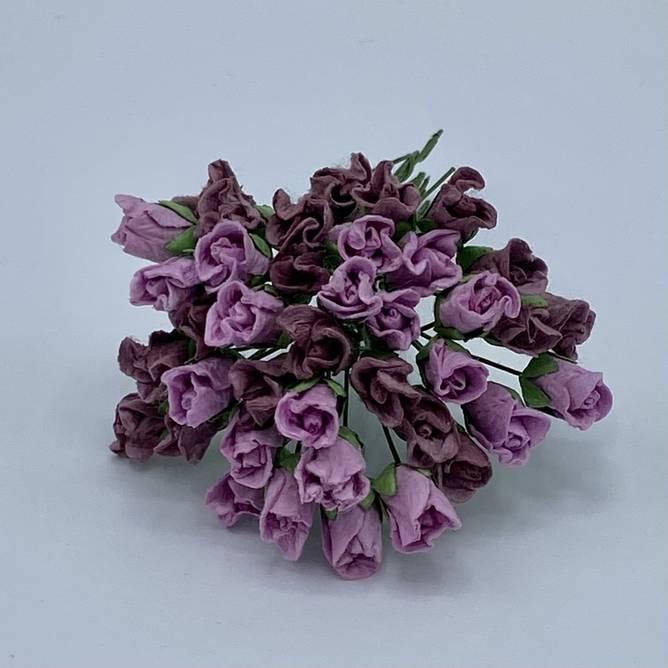 Bilde av Lukket rose, vintage rosa