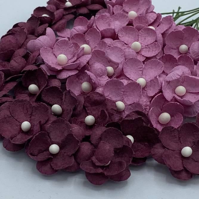 Bilde av Søte blomster, gammelrosa