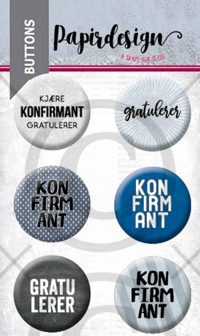 Bilde av Konfirmant 6 (6 buttons)